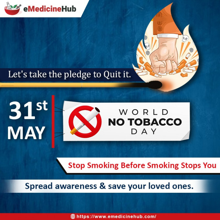"""Homoeopathy and Tobacco"" = World NO Tobacco Day !"