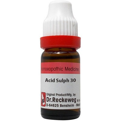 Acid Sulphuricum