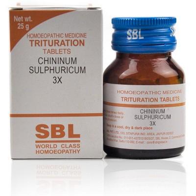Chininum Sulphuricum 3X
