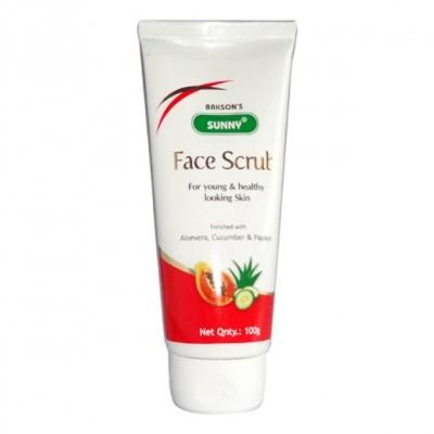 Sunny Face Scrub with Aloe Vera, Cucumber, Papaya