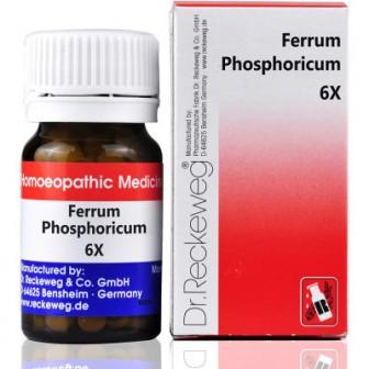 Dr. Reckeweg Ferrum Phosphoricum 6X (20 gm)