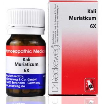Dr. Reckeweg Kali Muriaticum 6X (20 gm)