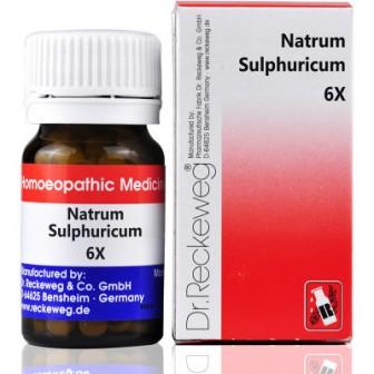 Dr. Reckeweg Natrum Sulphuricum 6X (20 gm)