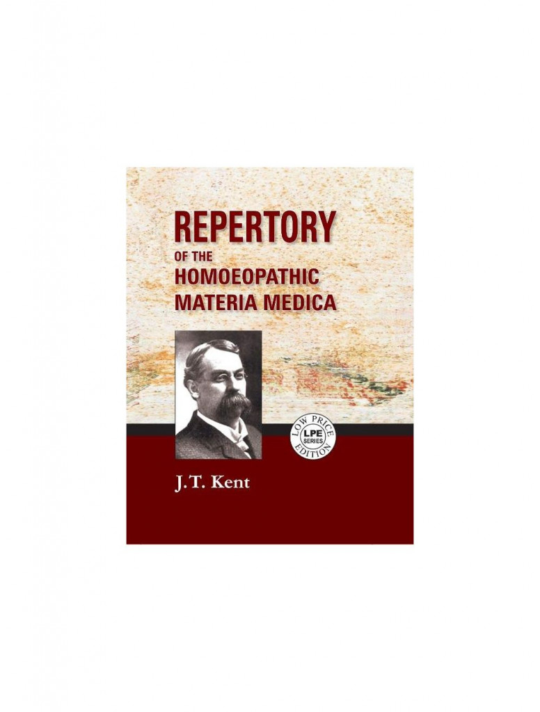 REPERTORY OF THE HOMOEOPATHIC MATERIA MEDICA ( Mini Size) By JAMES TYLER KENT