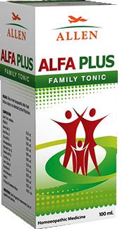 Allen Alfa Plus Sugar Free Tonic (100 ml)