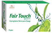 Allen Fair Touch(Glycerin) Complete skin care Soap (75 gm)