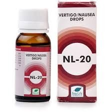 New Life NL 20 Vertigo & Nausea (30 ml)