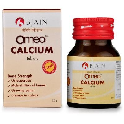 B Jain Omeo Calcium Tablets (25 gm)