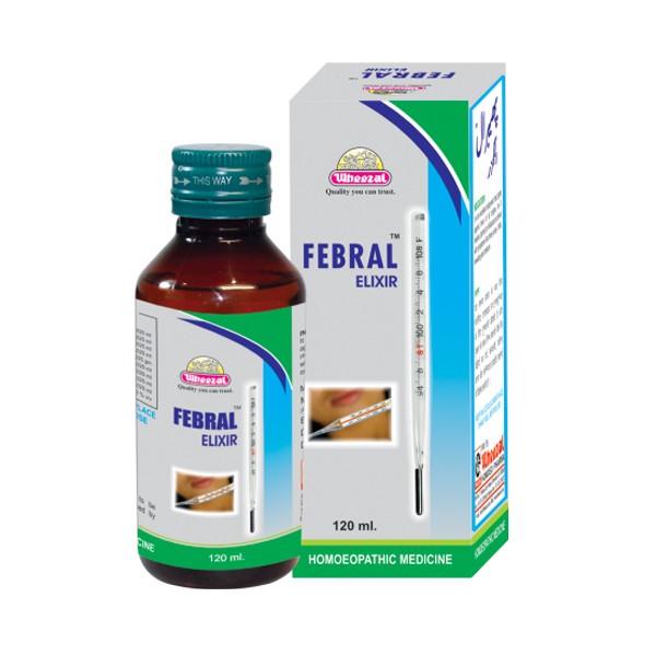Wheezal Febral Elixir Syrup (120 ml)