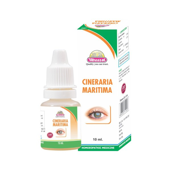 Wheezal Cineraria Maritima Eye Drop (10 ml)