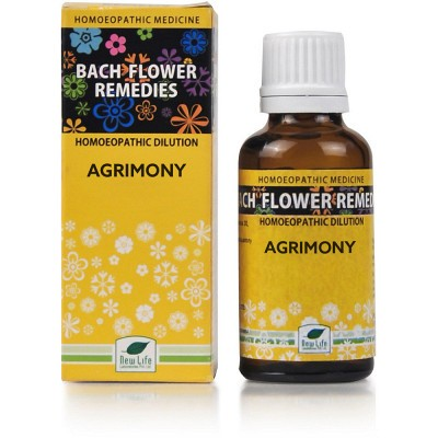 New Life Batch Flower Agrimony (30 ml)