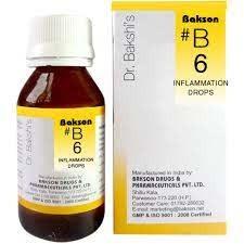Bakson's B6 Inflamation Drops (30 ml)