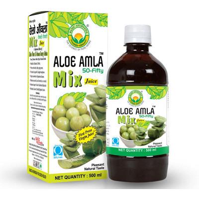Basic Ayurveda Aloe Amla 50:50 Juice (500ml)