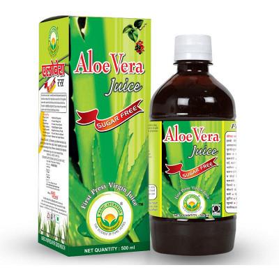 Basic Ayurveda Aloe Vera Juice (Sugar Free) (500ml)