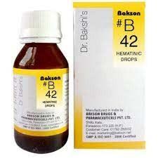Bakson's B42 Hematinic Drops (30ml)