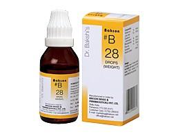 Bakson's B28 Weight Drops (30 ml)
