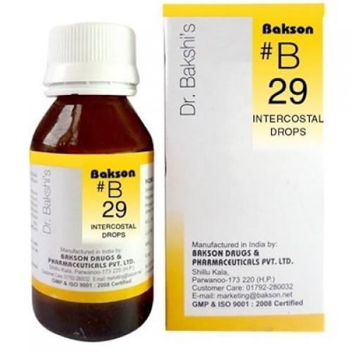 Bakson's B29 Intercostal Drops (30 ml)