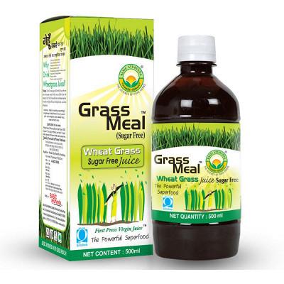 Basic Ayurveda Grass Meal (Wheat Grass) Juice Sugar Free (500ml)
