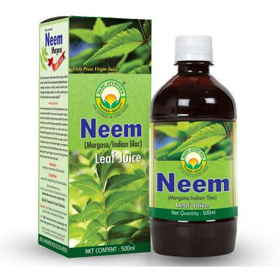 Basic Ayurveda Neem Leaf Juice (Margosa) (500ml)