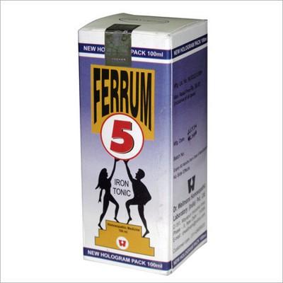 Dr. Wellmans Ferrum 5 Syrup (180 ml)