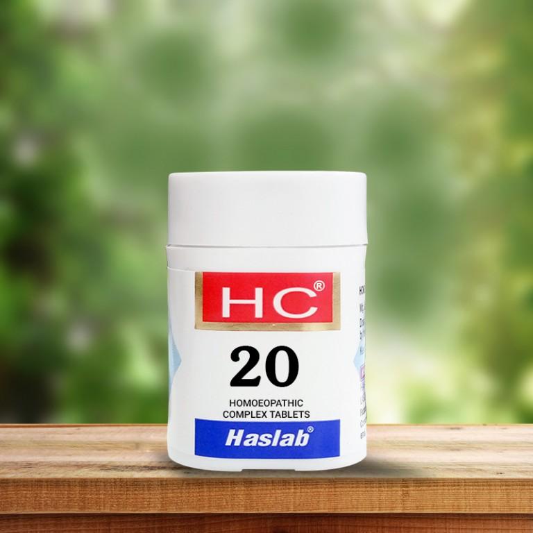 HSL HC-20 Nux Vomica Complex (20 gm)