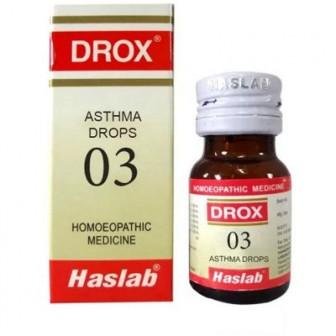 Drox 3 Asthma Drops (30 ml)