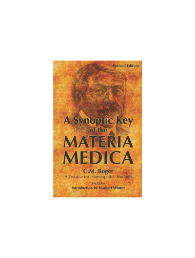 A Synoptic Key of the Materia Medica By C M BOGER