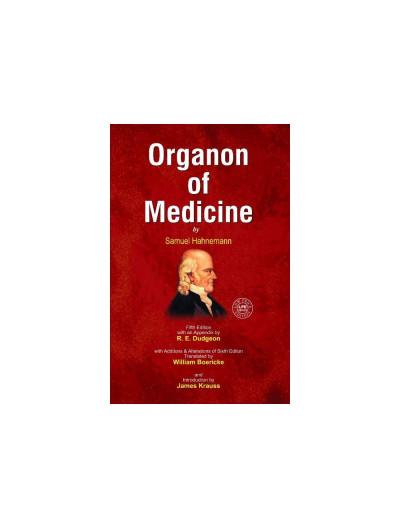 ORGANON OF MEDICINE 5 & 6 EDITION By SAMUEL HAHNEMANN