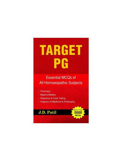Target PG By J D PATIL