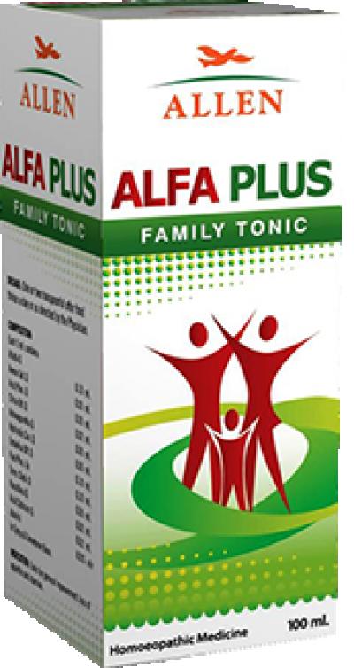 Alfa Plus Sugar Free Tonic (100 ml)
