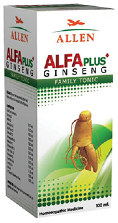Alfa Plus Ginseng Tonic (100 ml)