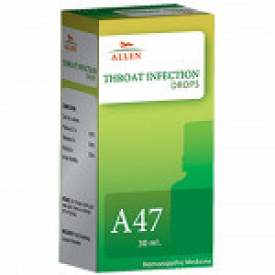 A47 Throat Infection Drop (30 ml)