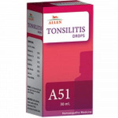 A51 Tonsilitis Drop (30 ml)