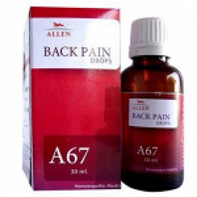 A67 Back Pain Drop (30 ml)