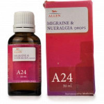 A24 Migraine & Neuralgia Drop (30 ml)