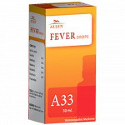 A33 Fever Drop (30 ml)