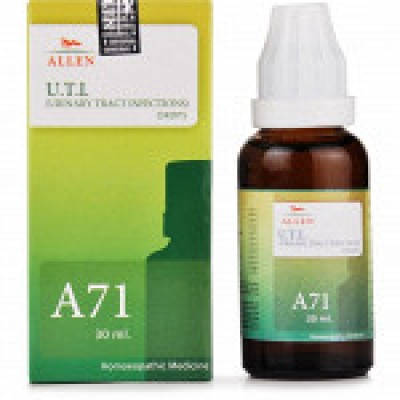 A71 Urinary Track Infection Drop (30 ml)