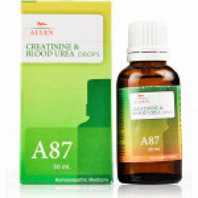 A87 Creatinine & Blood Urea Drop (30 ml)