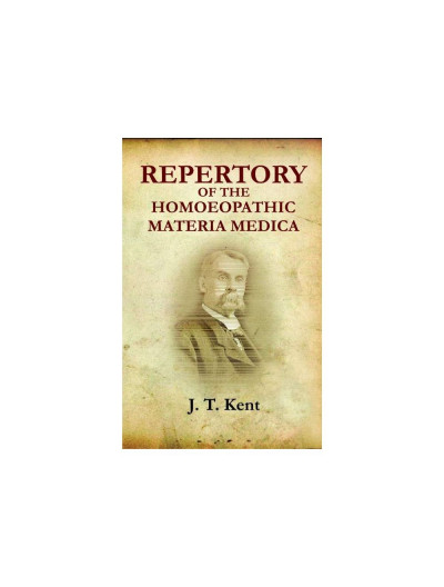 Repertory of the Homeopathic Materia medica with a word & thumb index-Mini size By JAMES TYLER KENT