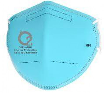 O2 Pro N95 Protective Mask (Pack of 3)