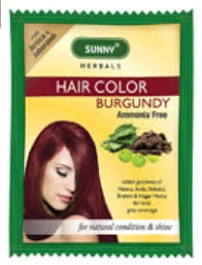 Sunny Hair Color-BURGUNDY (20gm)