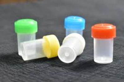 Homeopathic Empty Plastic Bottle 1/2 (Half) Dram Bottle, Pack Of 144