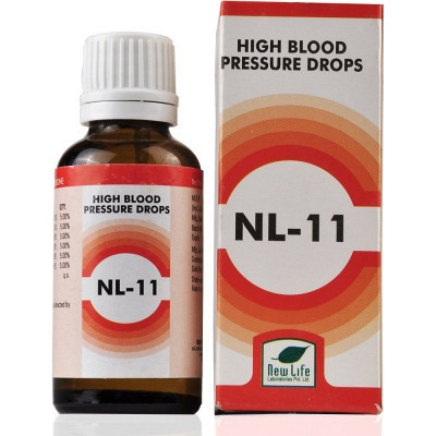 NL 11 High Blood Pressure Drops (30 ml)