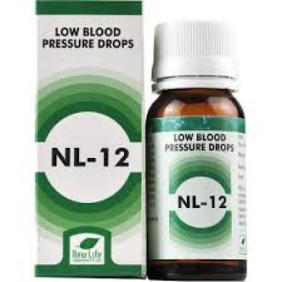 NL 12 Low Blood Pressure Drops (30 ml)