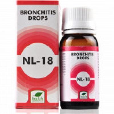 NL 18 Bronchitis Drops (30 ml)