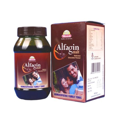 Alfagin Malt (450 gm)