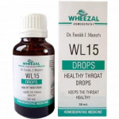 WL-15 Healthy Throat Drops (30 ml)