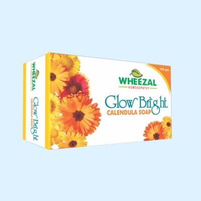 Glow Bright Calendula Soap (75 gm)