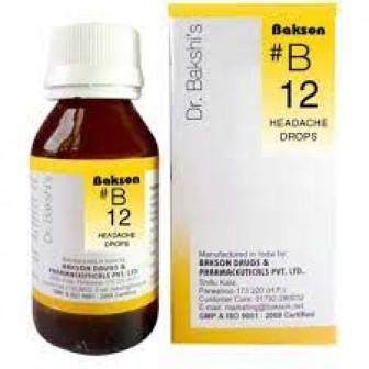 B12 Headache Drops (30ml)