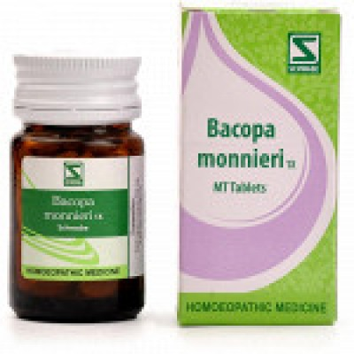 Bacopa Monnieri 1X Tablets (Brahmi) (20 gm)